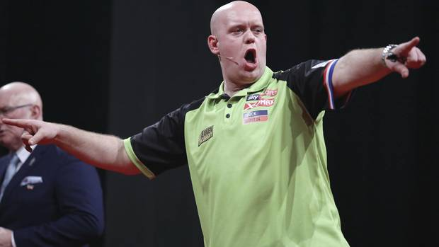 Michael van Gerwen Darts-WM