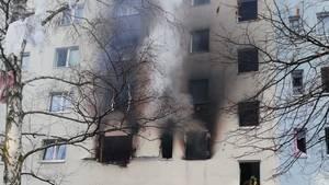 Explosion Wohnhaus Blankenburg