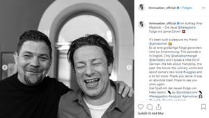 """Tim Mälzer will sich mit Kumpel Jamie Oliver bei """"Kitchen Impossible"""" duellieren"""