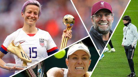 Zwischen Sieg und Niederlage: Das sind die Gewinner und Verlierer im Sport 2019