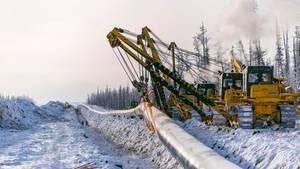 Die Pipeline wurde ohne Verzögerung in Dienst genommen.