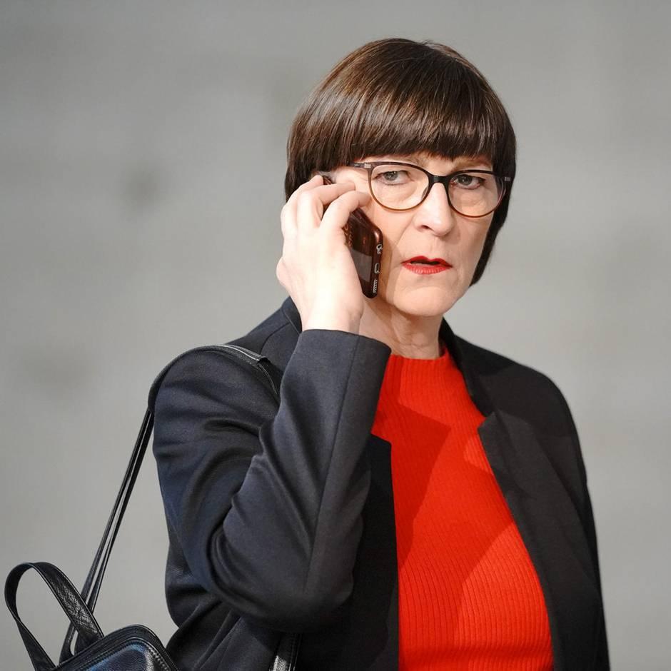 Medienbericht: Kündigung und Bespitzelung? Ex-Mitarbeiter erheben schwere Vorwürfe gegen SPD-Chefin Saskia Esken
