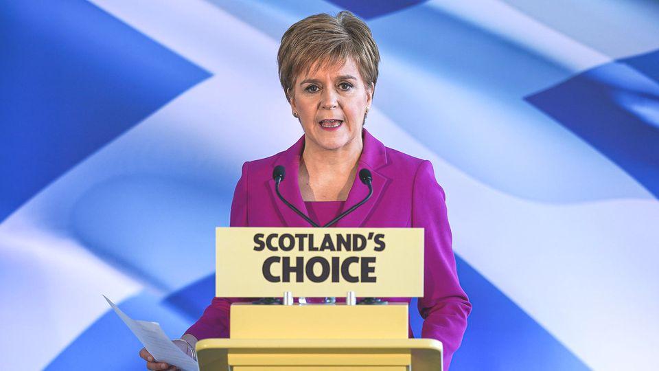 schottische Regierungschefin Nicola Sturgeon