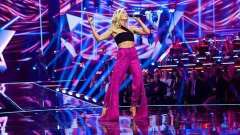 Helene Fischer singt auf der Bühne