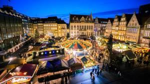 Der Vorfall ereignete sich auf einem Weihnachtsmarkt in baden-Württemberg. Abgebildet ist eine Veranstaltung in Bremen.