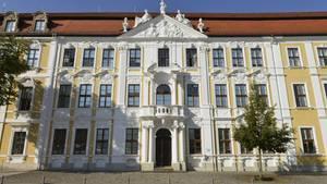 Das Landtagsgebäude in Magdeburg (Sachsen-Anhalt)