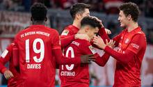 Bei den Bayern herrscht wieder gute Laune dank eines harmlosen Aufbaugegners Wer Bremen