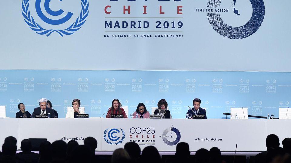 Klimagipfel in der spanischen Hauptstadt Madrid