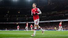 Mesut Özil in Aktion für den FC Arsenal