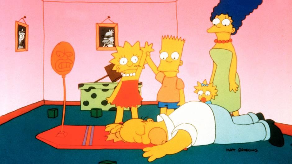 """""""Die Simpsons"""" ist  heute einer der größten TV-Erfolge der Welt"""
