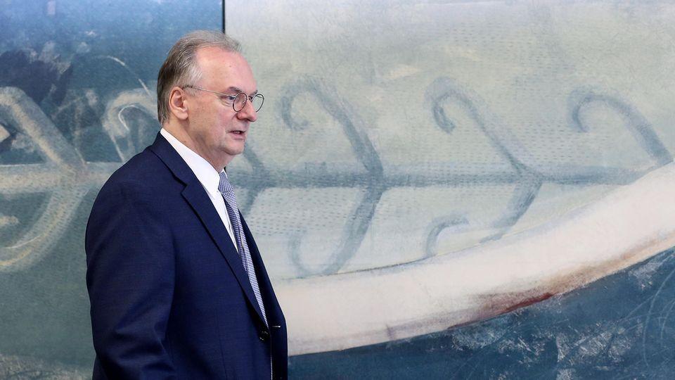 Reiner Haseloff, Ministerpräsident von Sachsen-Anhalt