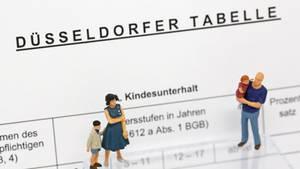 """OLG Düsseldorf veröffentlicht die """"Düsseldorfer Tabelle"""""""