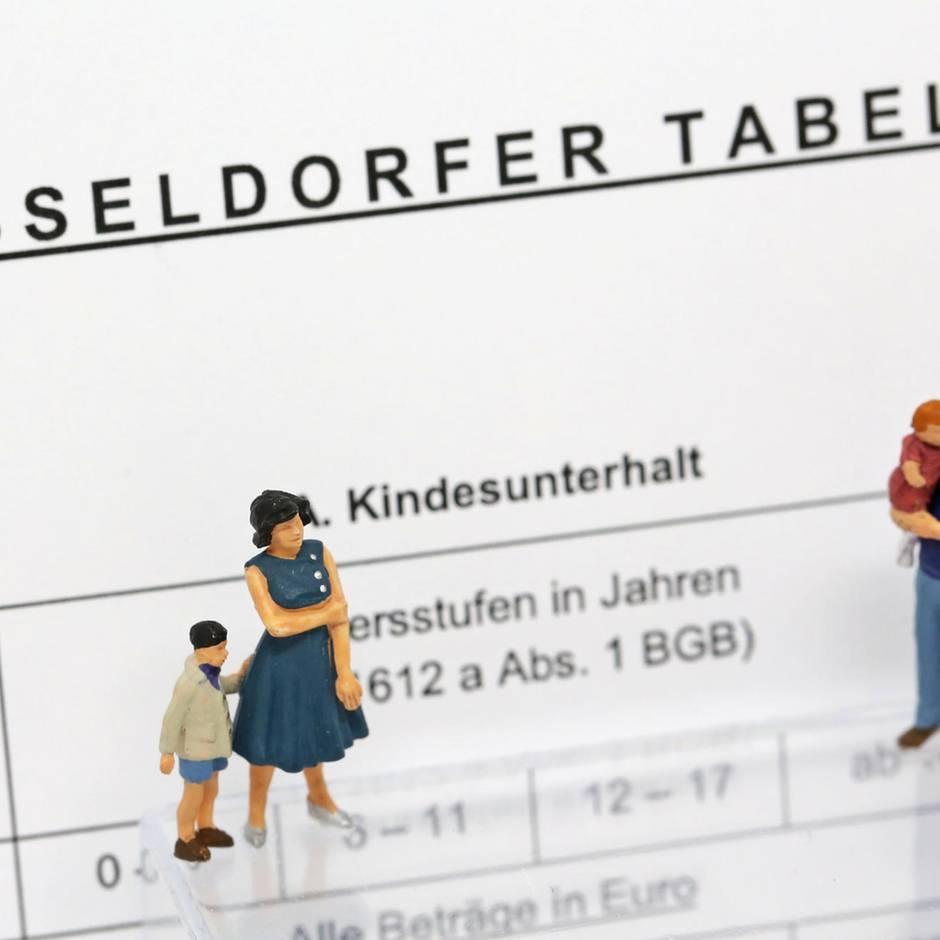 Ab 2020: Düsseldorfer Tabelle: Elternteile müssen höhere Unterhaltssätze für Kinder zahlen