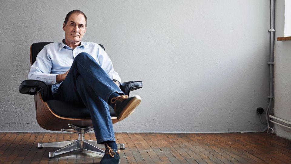 Dr. Ulrich Weißmann im Studio