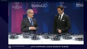 Giorgio Marchetti, Wettbewerbsdirektor der Uefa, undHamit Altıntop