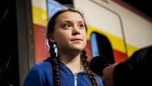 Klimaaktivistin Greta Thunberg
