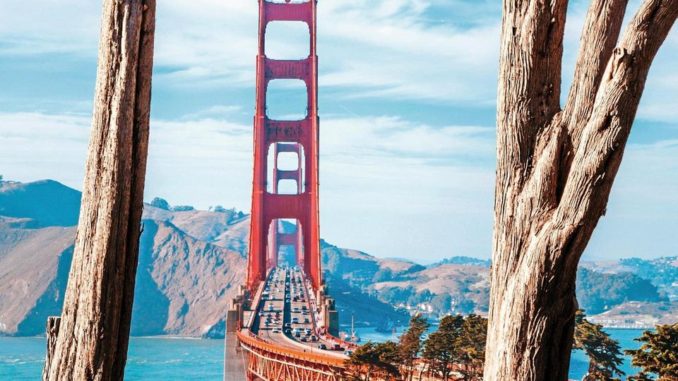 Die Golden Gate Bridge