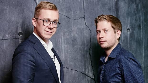 Philipp Amthor und Kevin Kühnert in der DISKUTHEK