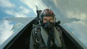 "Tom Cruise in ""Top Gun: Mavarick"""