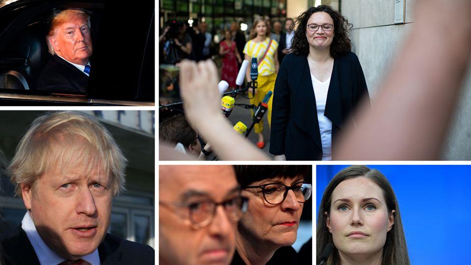 Jahresrückblick Politik Collage