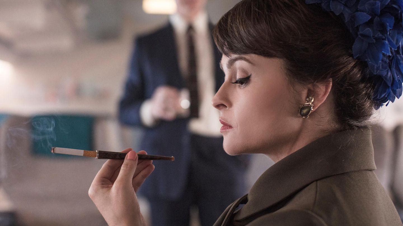 "Helena Bonham-Carter in ""The Crown"""