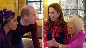 Prinz William und Herzogin Kate duellieren sich im Kochduell