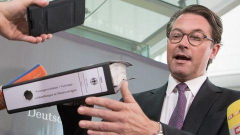 Verkehrsminister Andreas Scheuer (CSU)
