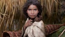 Die Rekonstruktion des Steinzeit-Mädchens aus Dänemark