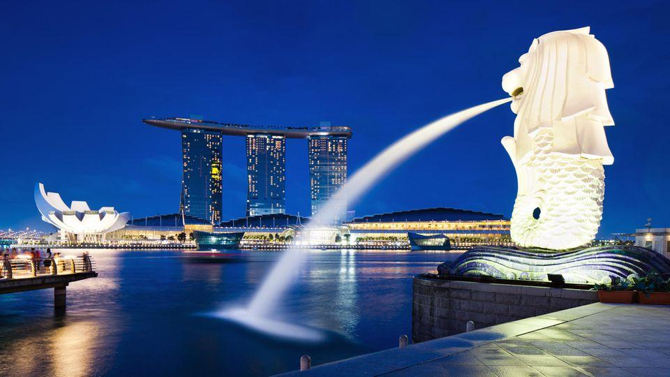 Merlion in Singapur