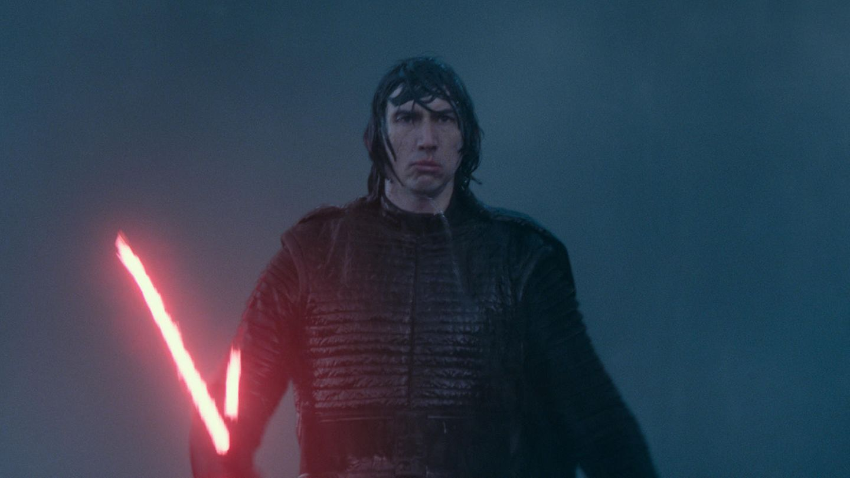 Star Wars 9: Kylo Ren mit Lichtschwert