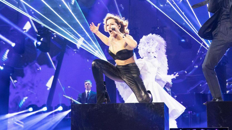 Helene Fischer präsentiert in ihrer großen Show auch sexy Outfits
