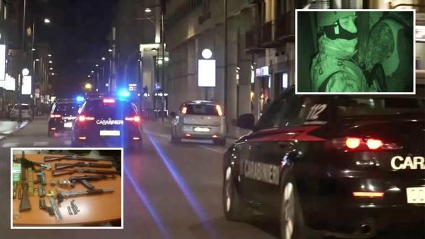 Italien: Polizei gelingt schwerer Schlag gegen die Mafia