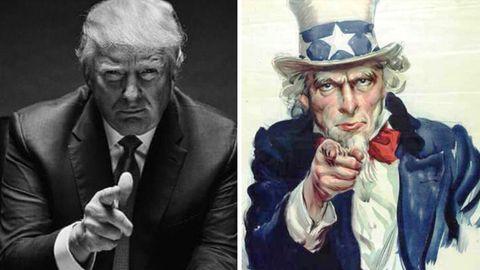 Trump als Uncle Sam: Auf Twitter hagelt es Häme