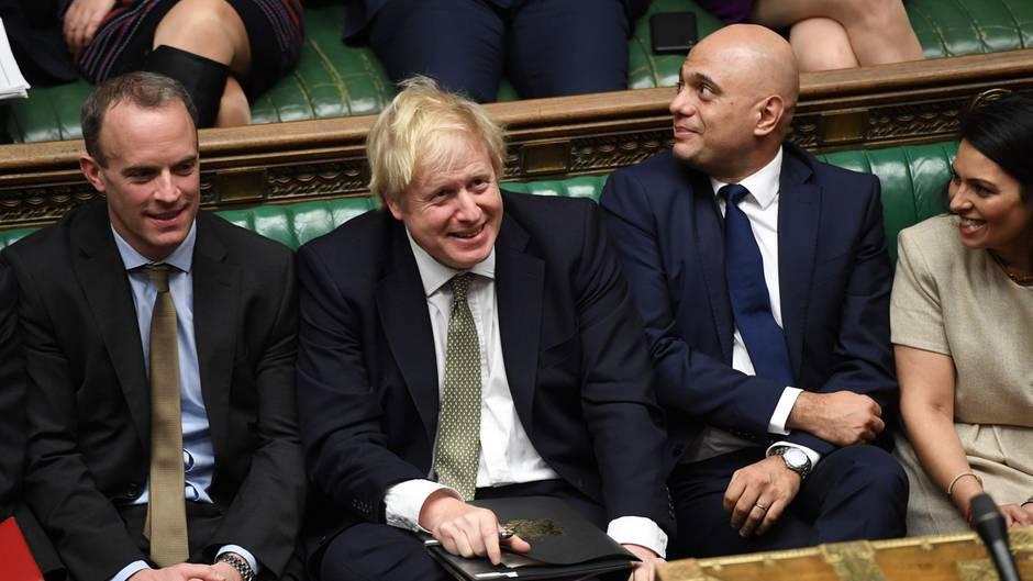 Premierminister Boris Johnson im britischen Unterhaus