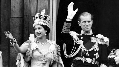 Prinz Philip und Queen Elizabeth II