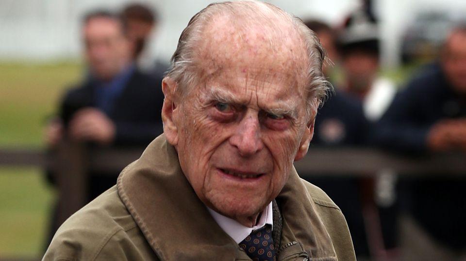 Der britische Prinz Philip, der Herzog von Edinburgh