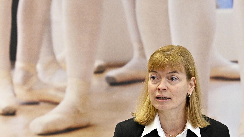 Susanne Reindl-Krauskopf, Vorsitzende der Untersuchungskommission, spricht bei der Präsentation des Abschlussberichtes zu den Vorwürfen gegen die Ballettakademie der Wiener Staatsoper.