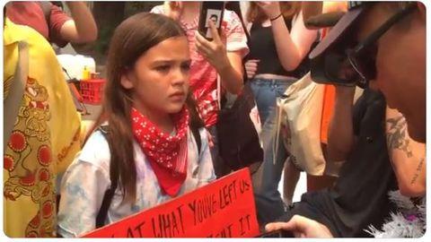 Buschbrände: Die australische Greta? 13-Jährige wird zum Gesicht des Klima-Protests