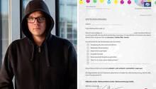 Nico Semsrott veröffentlicht ein Entschuldigungsschreiben für das Weihnachtsfest