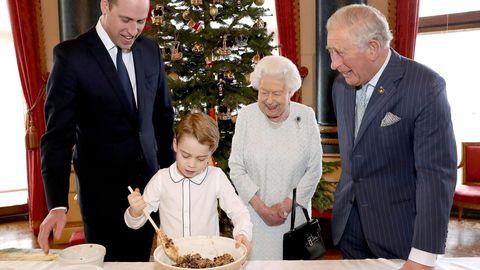 Prinz George und die Royal Family