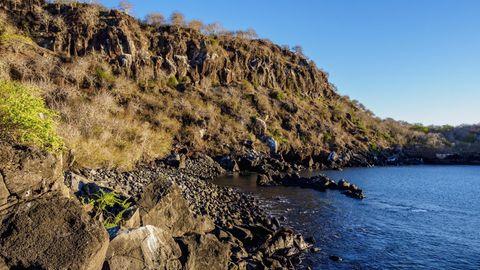Ein Küstenabschnitt der Galápagos-Insel San Cristóbal (Archivbild)