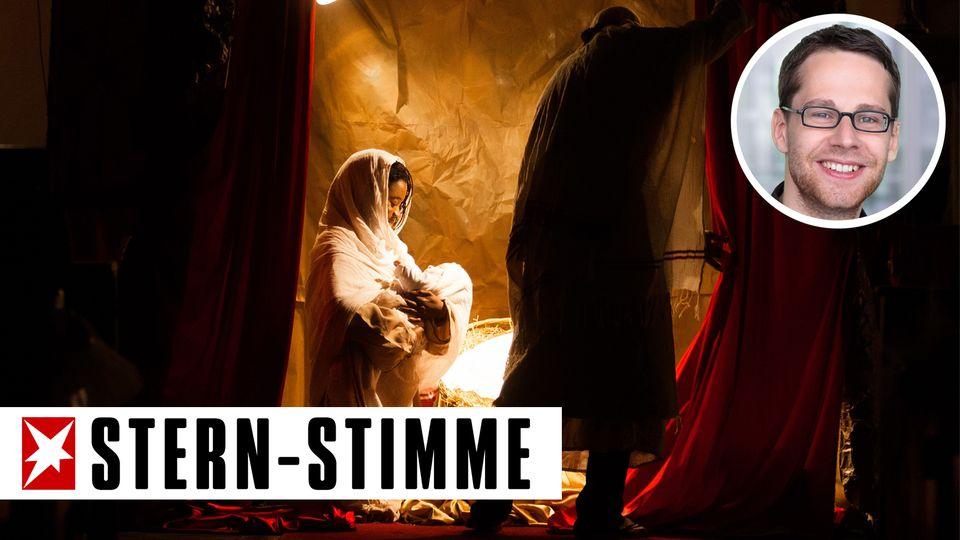 Heiligabendmesse in der Kathedrale des Heiligen Vincent de Paul in Tunis: Zumindest das Weihnachts-Setting stimmt im Nahen Osten