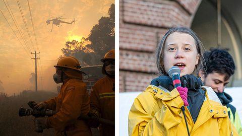 Greta Thunberg äußert sich zu Buschbränden in Australien