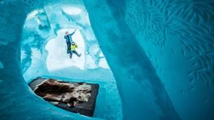 """""""Great Excape"""" nennenMarjolein Vonk und Maurizio Perron ihre Suite, die in der Kategorie Luxus den Gästen angeboten wird"""