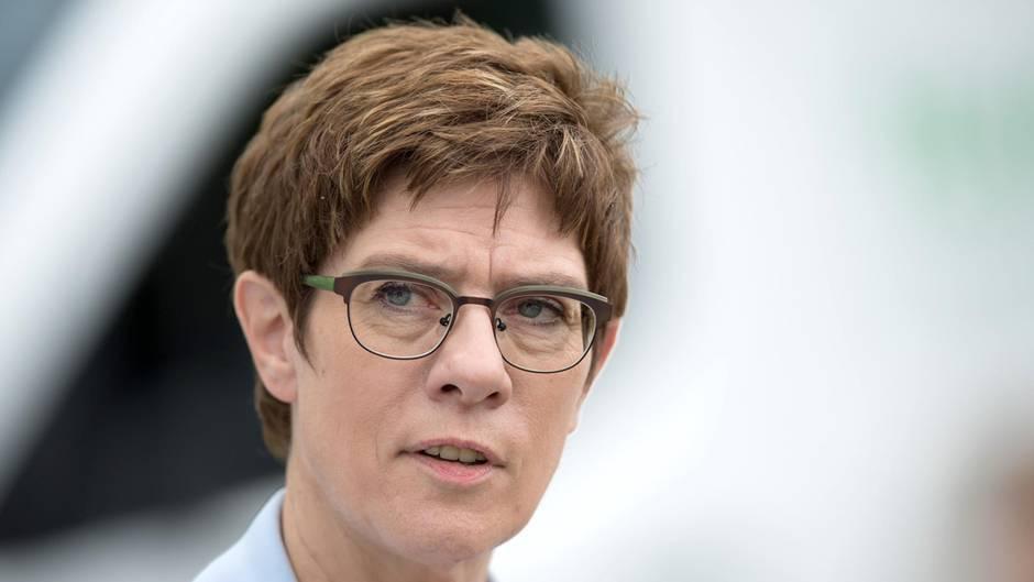 Annegret Kramp-Karrenbauer, CDU-Vorsitzende und Verteidigungsministerin