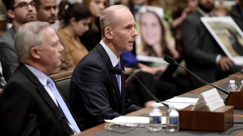 Bei einem Hearing im Washington D.C. Ende Oktober:Dennis Muilenburg, der von Juli 2015 bis zum 23. Dezember 2019 an der Spitze von Boeing stand.