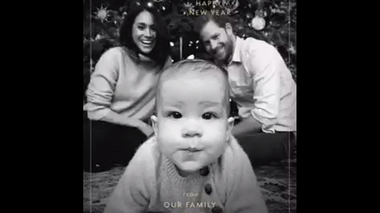 Prinz Harry Und Meghan Markle Verschicken Weihnachtskarte Mit Baby Archie Stern De