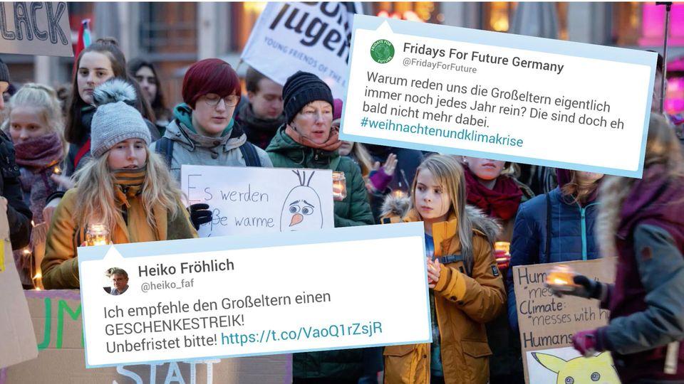 Fridays for Future wegen Großeltern-Tweet im Shitstorm