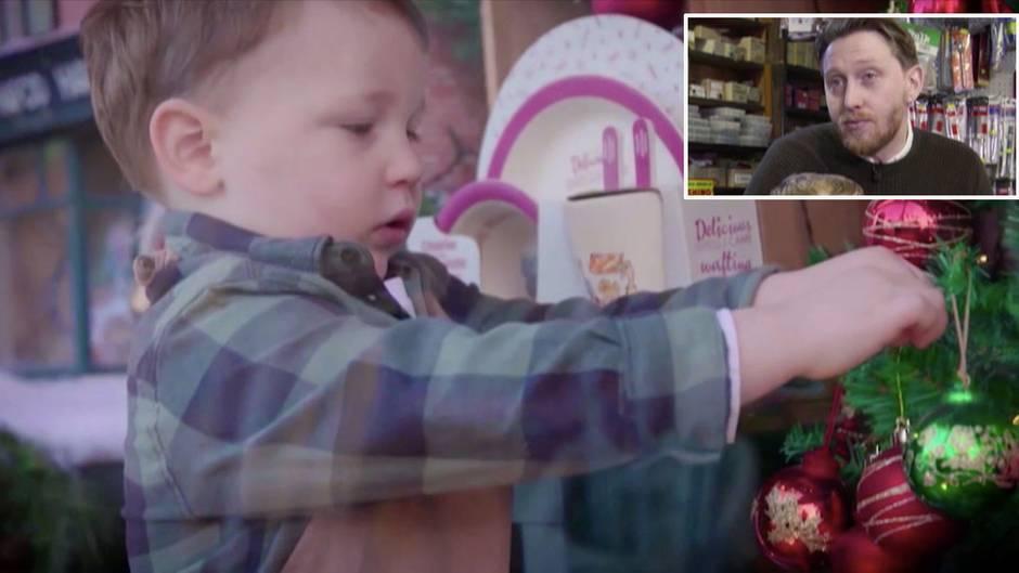 Virales Video: Süßester Weihnachtswerbespot des Jahres: Zweijähriger Arthur verzaubert die Herzen