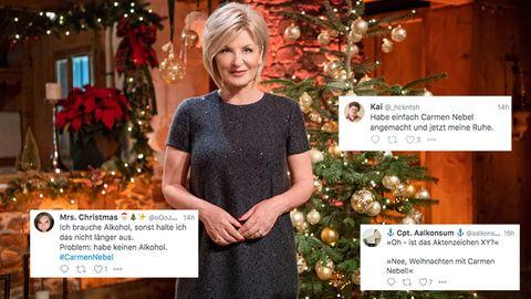 Carmen Nebel bei ihrer Weihnachtsshow
